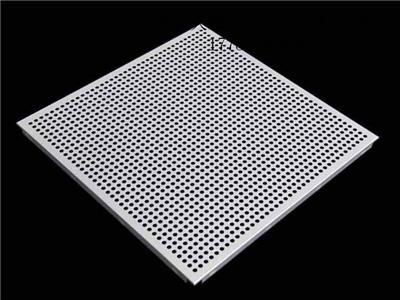 铝合金穿孔吸音板3